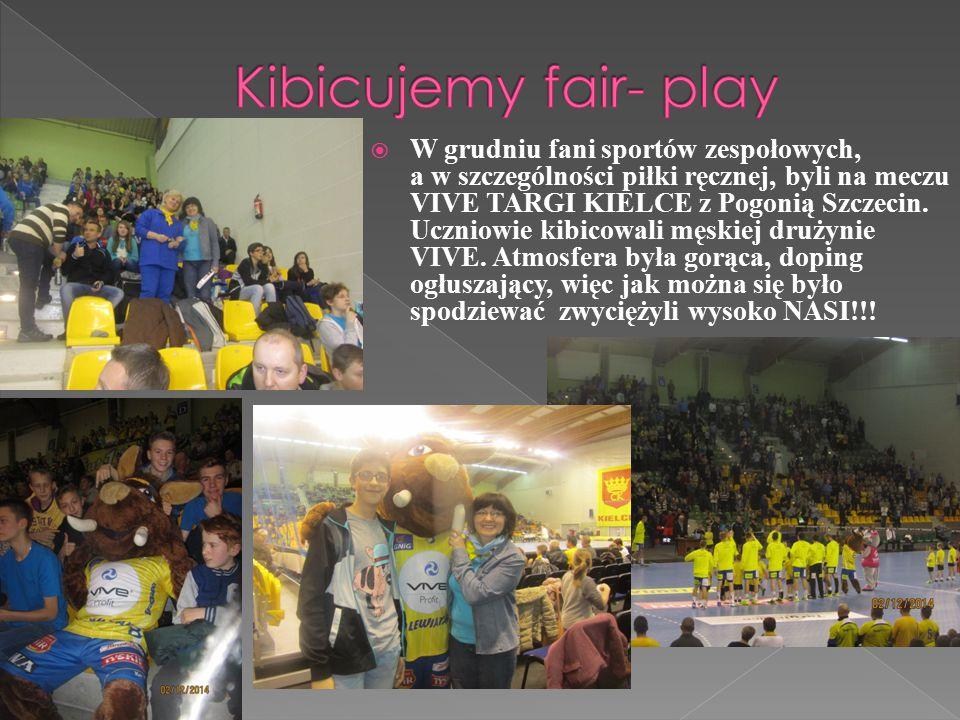  W grudniu fani sportów zespołowych, a w szczególności piłki ręcznej, byli na meczu VIVE TARGI KIELCE z Pogonią Szczecin.