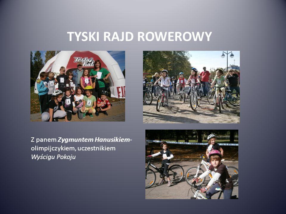 TYSKI RAJD ROWEROWY Z panem Zygmuntem Hanusikiem- olimpijczykiem, uczestnikiem Wyścigu Pokoju