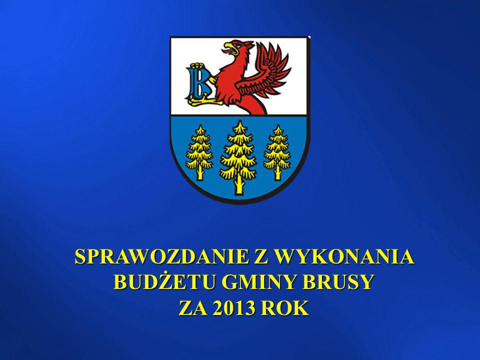 Maskotka Gminy Brusy nakłady poniesione w 2013r.– 33.548 zł nakłady poniesione w 2013r.