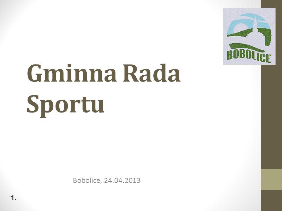 Gminna Rada Sportu Bobolice, 24.04.2013 1.