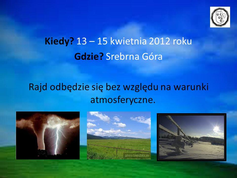 Kiedy. 13 – 15 kwietnia 2012 roku Gdzie.