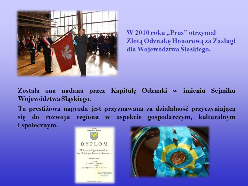 Została ona nadana przez Kapitułę Odznaki w imieniu Sejmiku Województwa Śląskiego. Ta prestiżowa nagroda jest przyznawana za działalność przyczyniając