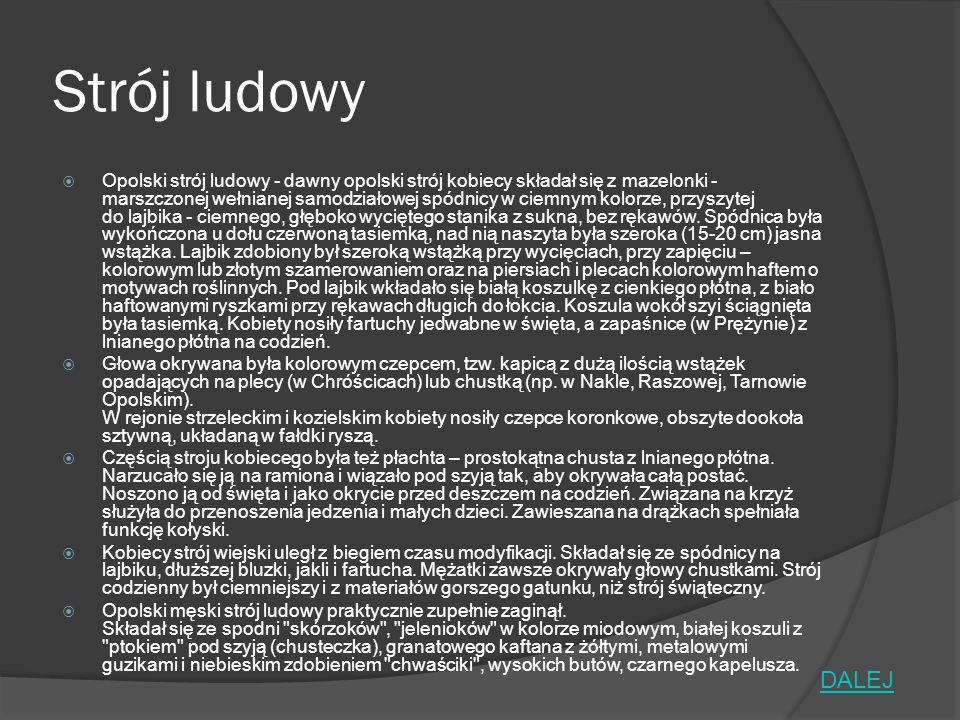 Bibliografia  http://www.potrawyregionalne.pl/280,Opolszczyzna.htm http://www.potrawyregionalne.pl/280,Opolszczyzna.htm  http://opole.naszemiasto.pl/plebiscyt/karta/wapienniki-w-gogolinie-18701874- r,14897,1095553,t,id,kid.html (zdjęcie) http://opole.naszemiasto.pl/plebiscyt/karta/wapienniki-w-gogolinie-18701874- r,14897,1095553,t,id,kid.html  http://pl.wikipedia.org/wiki/Zamek_w_Rogowie_Opolskim http://pl.wikipedia.org/wiki/Zamek_w_Rogowie_Opolskim  http://pl.wikipedia.org/wiki/Pałac_w_Mosznej http://pl.wikipedia.org/wiki/Pałac_w_Mosznej  http://www.polskieszlaki.pl/jurapark-krasiejow.htm http://www.polskieszlaki.pl/jurapark-krasiejow.htm  https://www.google.pl/imghp?hl=pl&tab=wi&ei=tu6JVO2ABNfrasqOgeAO&ved=0CAQQ qi4oAg https://www.google.pl/imghp?hl=pl&tab=wi&ei=tu6JVO2ABNfrasqOgeAO&ved=0CAQQ qi4oAg  http://pl.wikipedia.org/wiki/Góra_Świętej_Anny http://pl.wikipedia.org/wiki/Góra_Świętej_Anny  http://www.ekonomik.opole.pl/projekt_wycieczka/zabytki.html# http://www.ekonomik.opole.pl/projekt_wycieczka/zabytki.html#  http://www.odleglosci.pl/mapa,polski,Opole,opis,1.html http://www.odleglosci.pl/mapa,polski,Opole,opis,1.html  http://pl.wikipedia.org/wiki/Opole#Osoby_zwi.C4.85zane_z_Opolem http://pl.wikipedia.org/wiki/Opole#Osoby_zwi.C4.85zane_z_Opolem  http://opolskie.regiopedia.pl/wiki/opolski-stroj-ludowy http://opolskie.regiopedia.pl/wiki/opolski-stroj-ludowy  http://www.pl.all.biz/regions/?fuseaction=adm_oda.showSection&rgn_id=8&sc_id=3 http://www.pl.all.biz/regions/?fuseaction=adm_oda.showSection&rgn_id=8&sc_id=3  http://podroze.dziennik.pl/opole-kwitnace- muzycznie/turystyka/artykuly/442261,mistyczna-opolszczyzna-diably-duchy-stare- legendy.html http://podroze.dziennik.pl/opole-kwitnace- muzycznie/turystyka/artykuly/442261,mistyczna-opolszczyzna-diably-duchy-stare- legendy.html