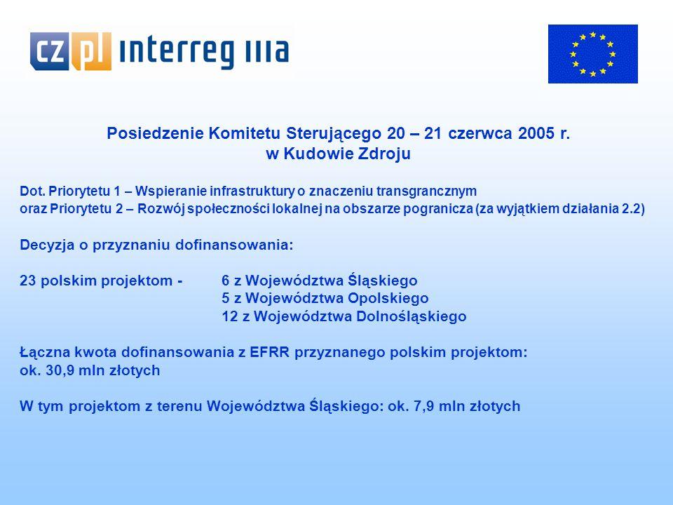 Posiedzenie Komitetu Sterującego 20 – 21 czerwca 2005 r.