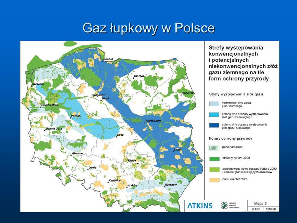 Gaz łupkowy w Polsce