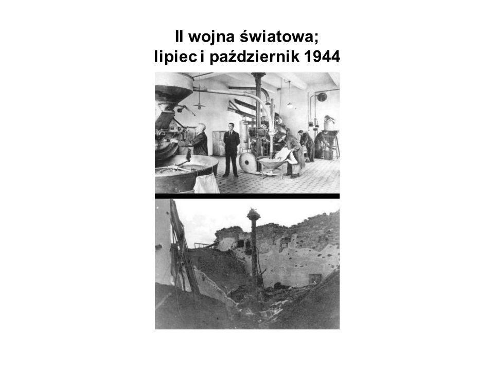 II wojna światowa; lipiec i październik 1944
