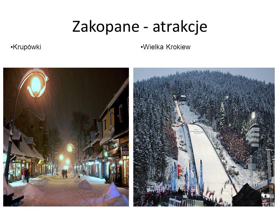 Zakopane - atrakcje KrupówkiWielka Krokiew