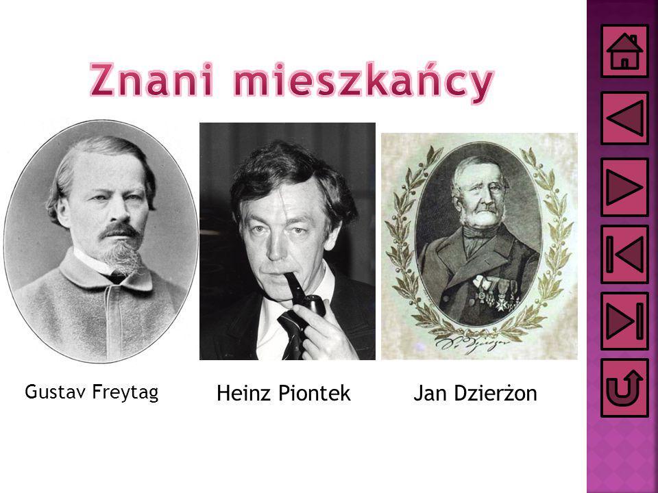 Gustav Freytag Jan DzierżonHeinz Piontek