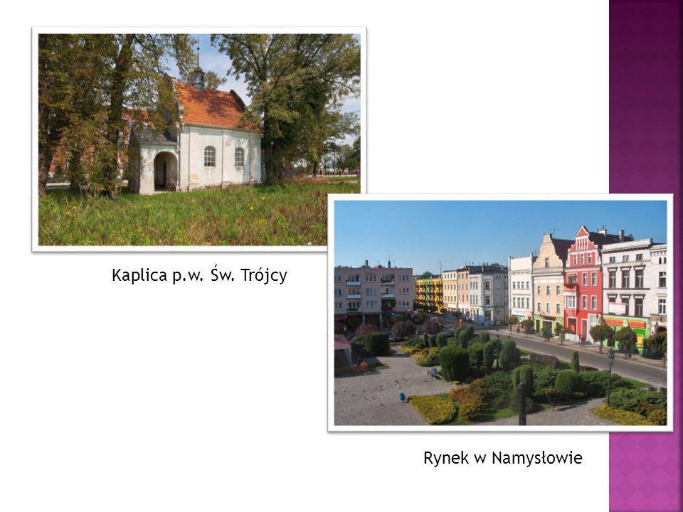 Kaplica p.w. Św. Trójcy Rynek w Namysłowie