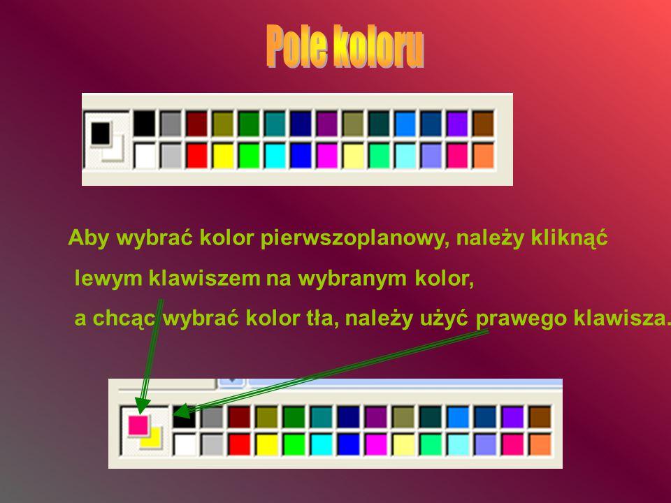 WYBRANYM Z PRZYBORNIKA NARZĘDZIEM RYSUJEMY W OKNIE, UŻYWAJĄC PRZYCISKÓW MYSZY Napisz ołówkiem w dwóch różnych wierszach(linijkach), swoje imię i nazwisko.