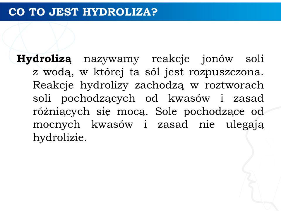 CO TO JEST HYDROLIZA.