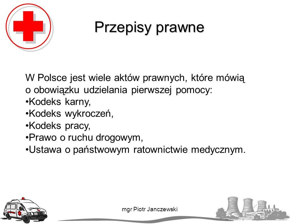 Zawał serca mgr Piotr Janczewski UWAGA!!.