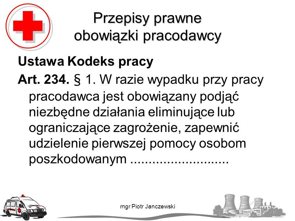 Napady drgawek - epilepsja mgr Piotr Janczewski Pierwsza pomoc nie powstrzymujemy drgawek na siłę staramy się ochronić głowę chorego przed urazami (np.