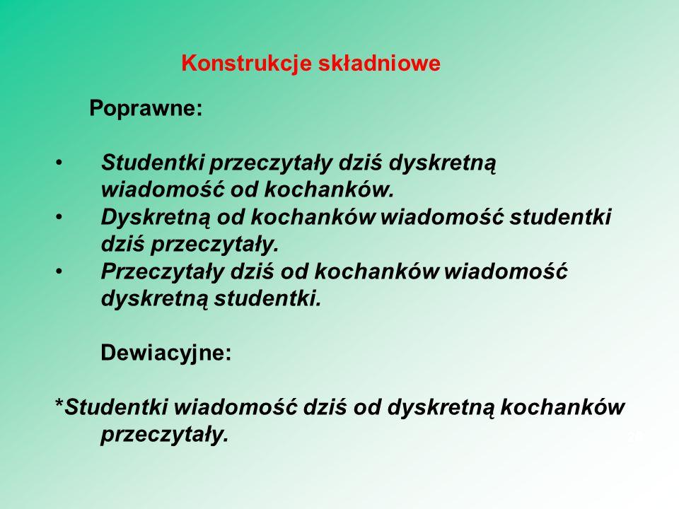 Gramatyka wyrażeń: składnia. Są języki, dla których Gramatyka = Składnia. 27 Gramatyka wyrażeń