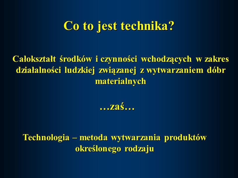 Przyszłego rozwoju techniki nie da się przewidzieć żadnymi racjonalnymi czy naukowymi metodami...