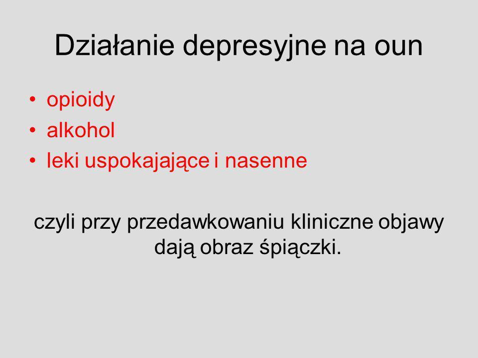 Najczęściej stosowane w Polsce opiaty/opioidy Heroina – proszek (biały) Brown sugar – brązowe, matowe bryłki Opium – ciemnobrązowe bryłki niekiedy proszek palony, i.v., i.m., s.c., rzadko doustnie, donosowo Palony, i.v…….