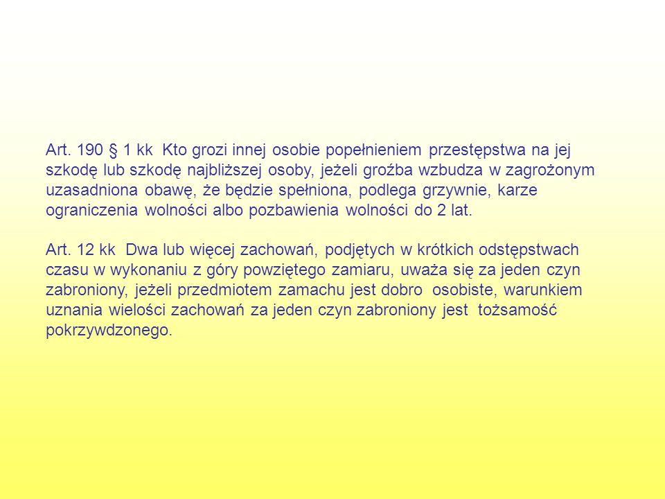 Hospitalizacje psychiatryczne Hospitalizacja 1 w okresie: 20.04.2002r.- 10.05.2002r.