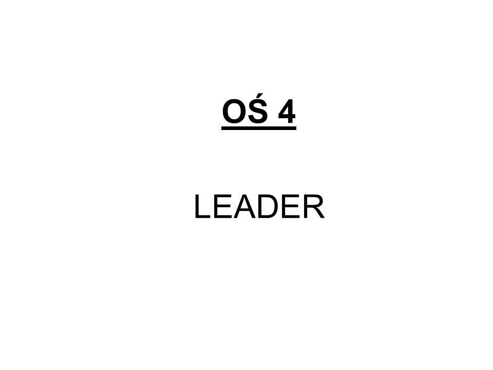 OŚ 4 LEADER