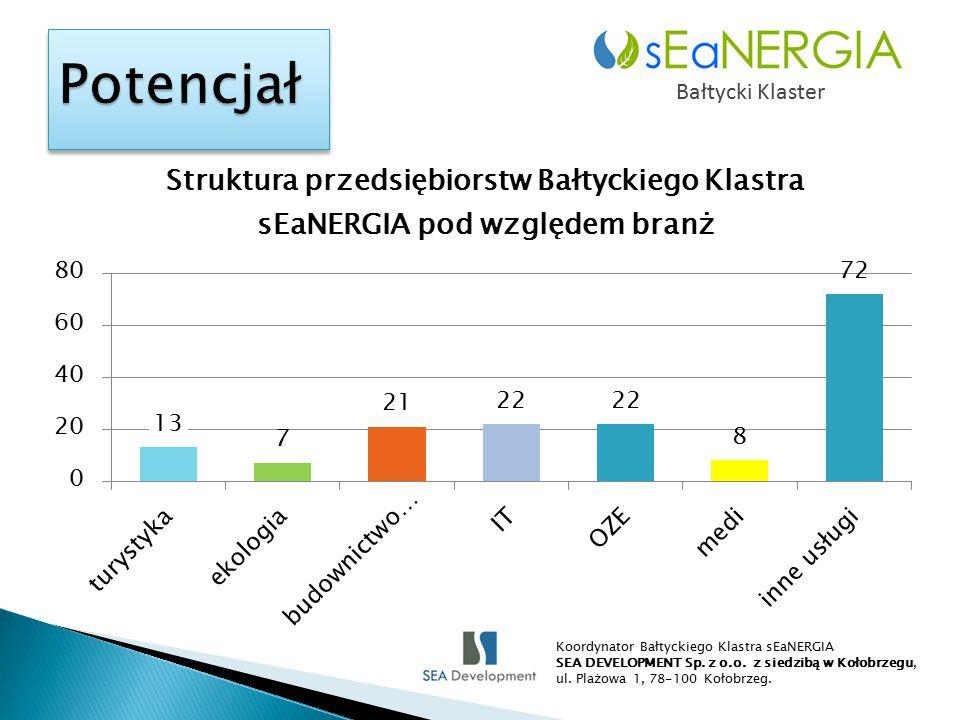 Bałtycki Klaster Koordynator Bałtyckiego Klastra sEaNERGIA SEA DEVELOPMENT Sp.