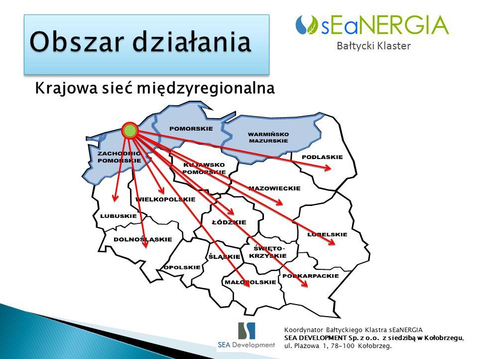 Krajowa sieć międzyregionalna Bałtycki Klaster Koordynator Bałtyckiego Klastra sEaNERGIA SEA DEVELOPMENT Sp.