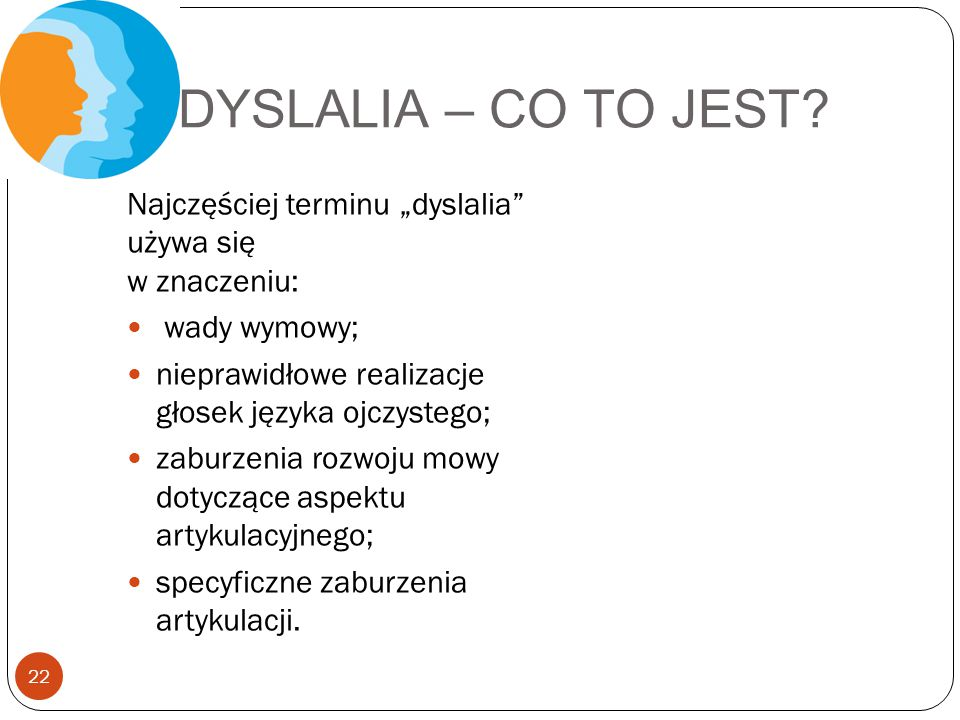 DYSLALIA – CO TO JEST.