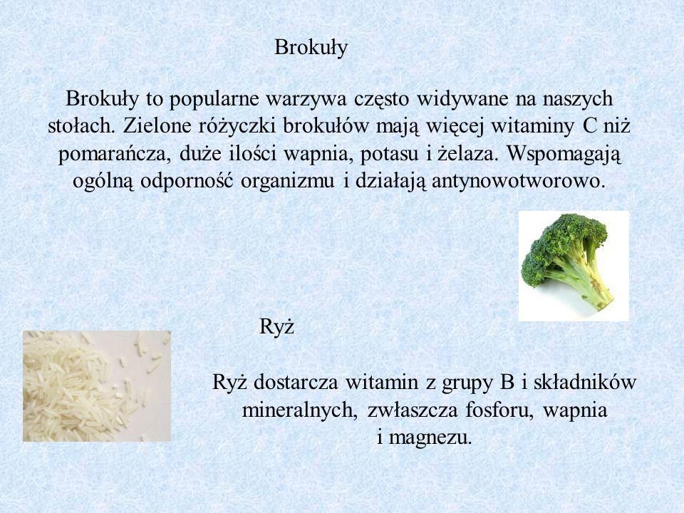 Brokuły to popularne warzywa często widywane na naszych stołach. Zielone różyczki brokułów mają więcej witaminy C niż pomarańcza, duże ilości wapnia,