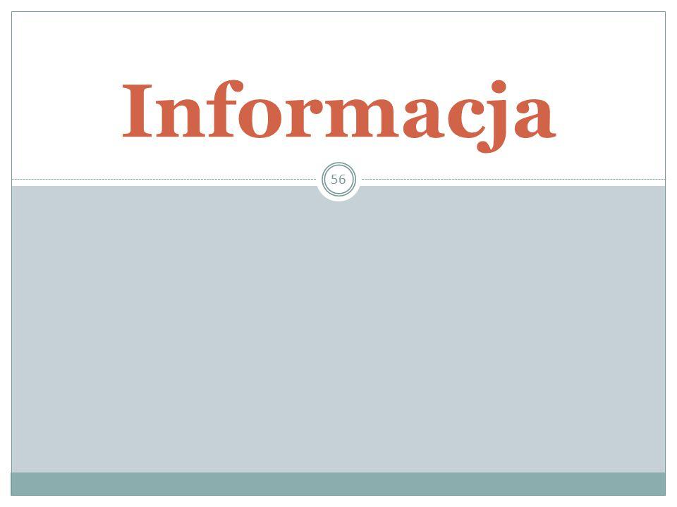 56 Informacja