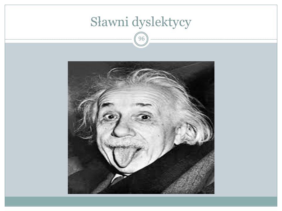 Sławni dyslektycy 96