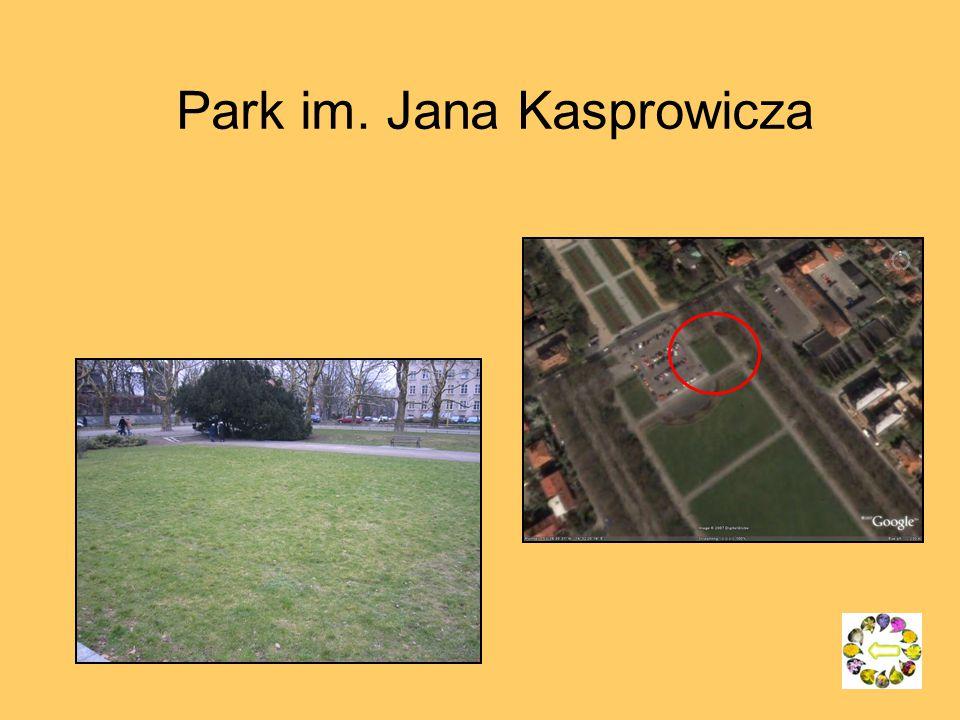 Park im. Jana Kasprowicza