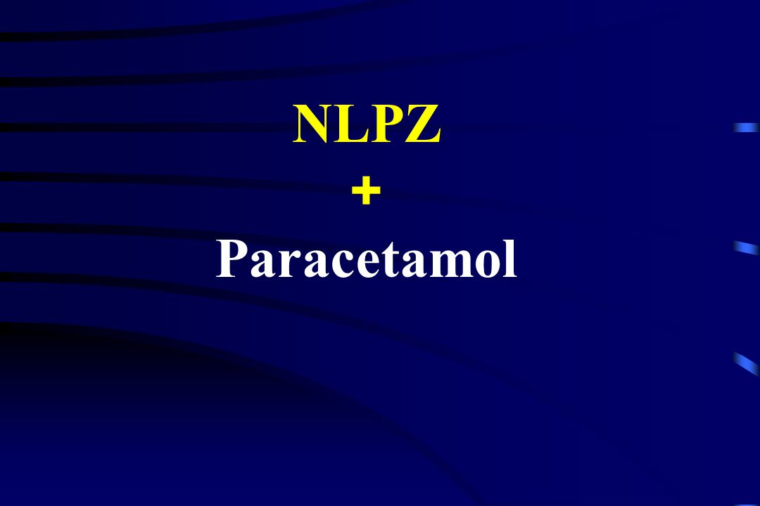Paracetamol (redukcja zapotrzebowania na opioidy do 50 %) Peduto, 1998