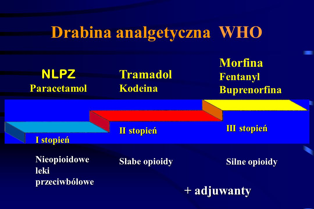 Ból neuropatyczny Trudny do opisania Pierwotnie zlokalizowany (jeden lub kilka dermatomów) Występuje nagle (piekący, parzący, strzelający) Objawy wspó
