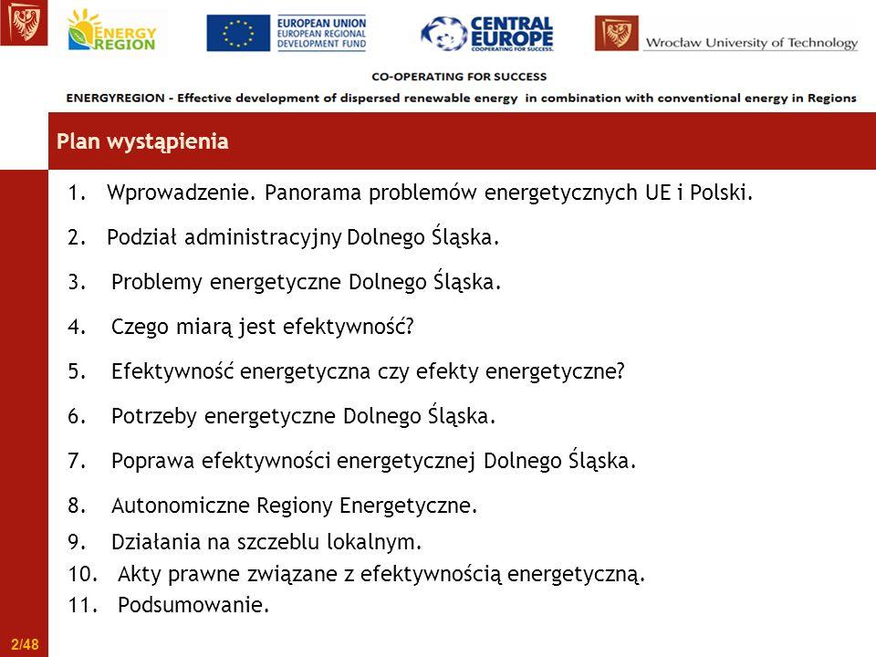 3. Problemy energetyczne Dolnego Śląska 23/48