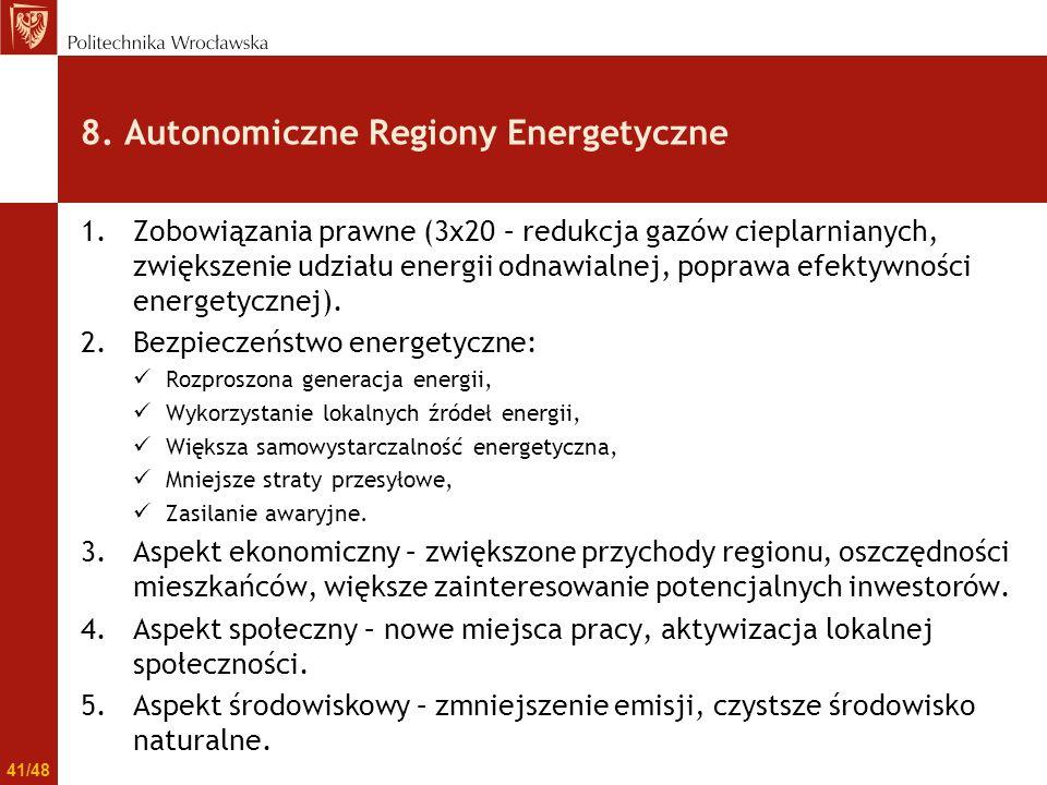1.Zobowiązania prawne (3x20 – redukcja gazów cieplarnianych, zwiększenie udziału energii odnawialnej, poprawa efektywności energetycznej). 2.Bezpiecze
