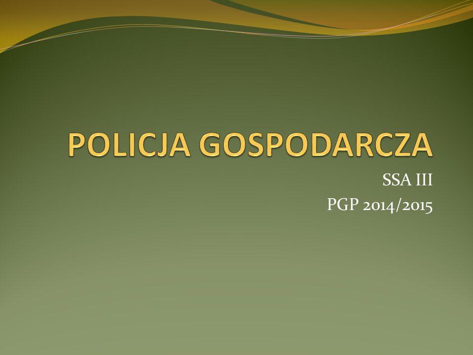 OGRANY POLICJI GOSPODARCZEJ ICH CELEM JEST WYEGZEKWOWANIE POSZCZEGÓLNYCH PRZEPISÓW POLICJA SANITARNAPOLICJA PRZECIWPOŻAROWAPOLICJA HANDLOWA POLICJA OCHRONY ŚRODOWISKAPOLICJA WETERYNARYJNAPOLICJA PRZEMYSŁOWA - DOZÓR TECHNICZNY