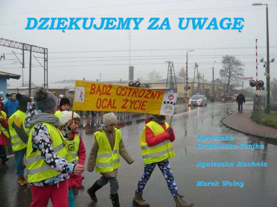 DZIĘKUJEMY ZA UWAGĘ AgnieszkaGrabowska-Czajka Agnieszka Machnio Marek Wolny