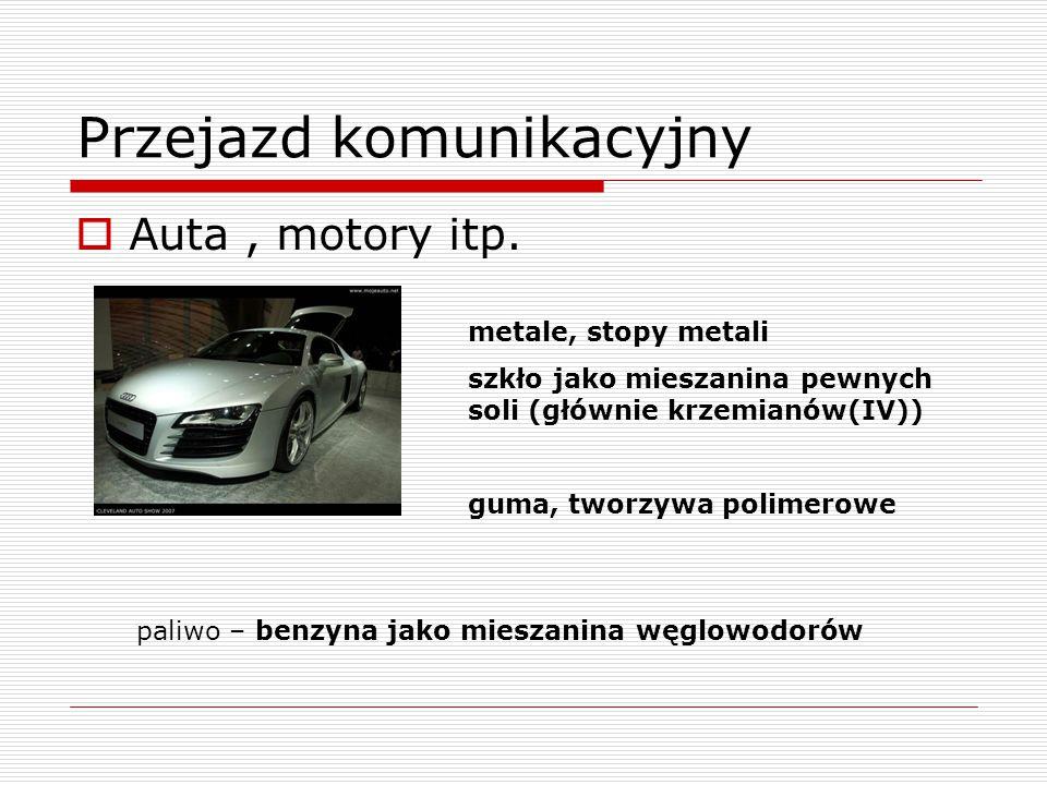 Przejazd komunikacyjny  Auta, motory itp.