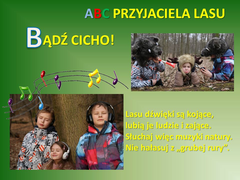 ABC PRZYJACIELA LASU OŚ STRASZNEGO Pożar!!.