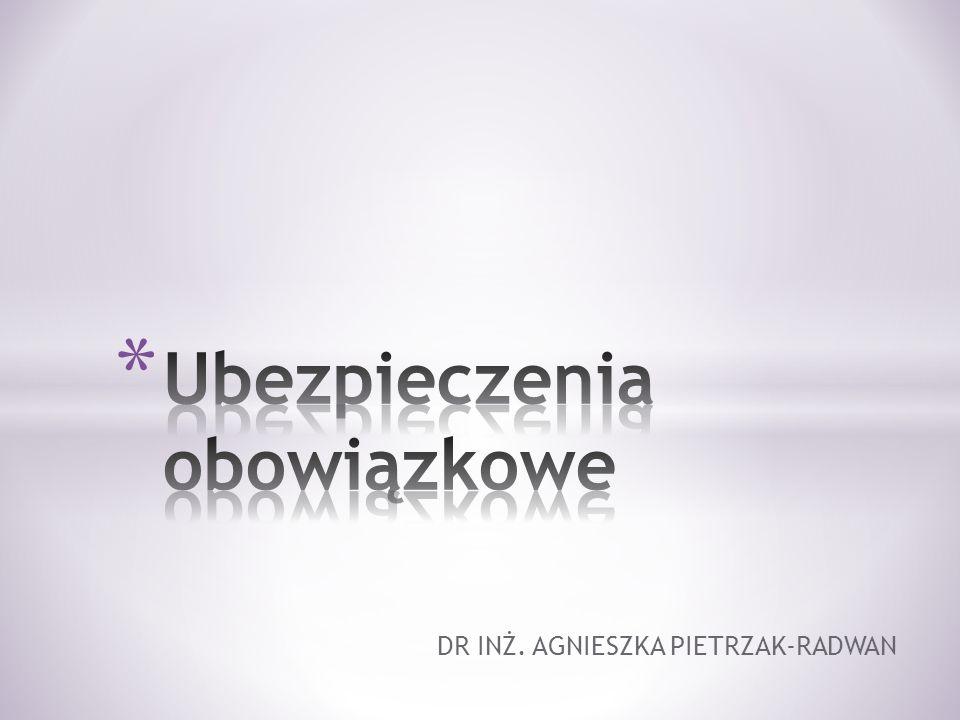 DR INŻ. AGNIESZKA PIETRZAK-RADWAN