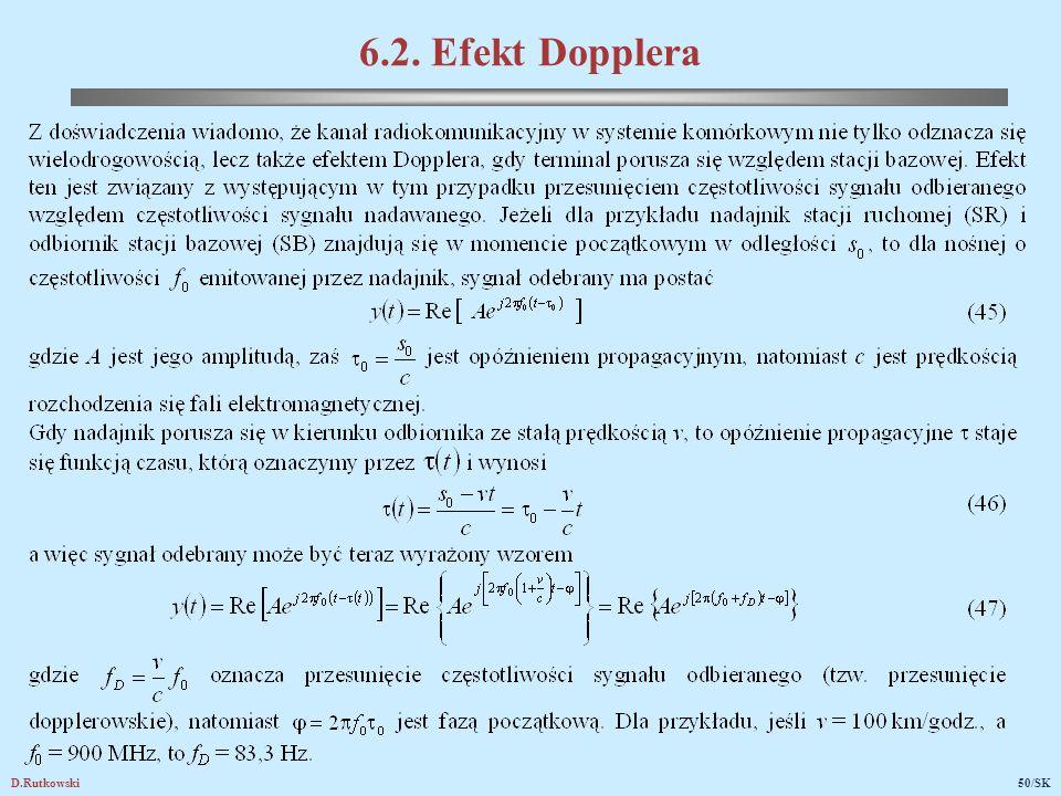 D.Rutkowski50/SK 6.2. Efekt Dopplera