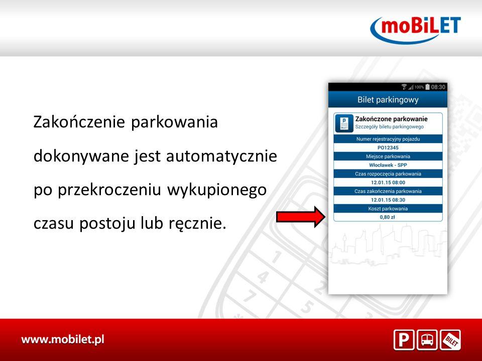 moBILET dla Komunikacji miejskiej Komunikacja miejska
