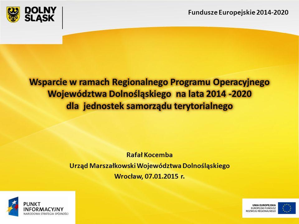 Fundusze Europejskie 2014-2020 Priorytet inwestycyjny 3.5 Wysokosprawna kogeneracja Zwiększenie udziału wysokosprawnych systemów kogeneracyjnych w produkcji energii cieplnej i elektrycznej regionu.