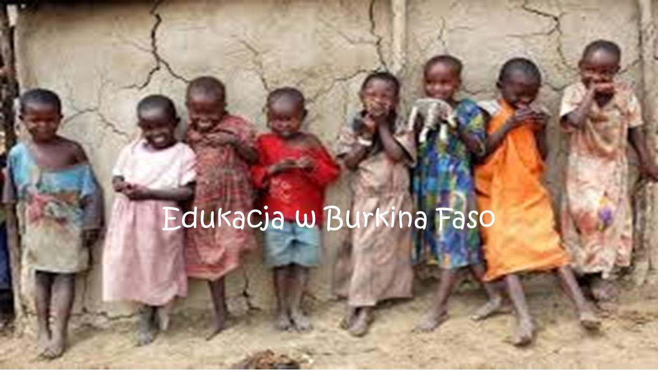 Edukacja w Burkina Faso