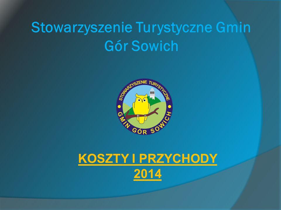 Stowarzyszenie Turystyczne Gmin Gór Sowich KOSZTY I PRZYCHODY 2014