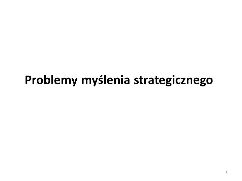 Problemy myślenia strategicznego 3