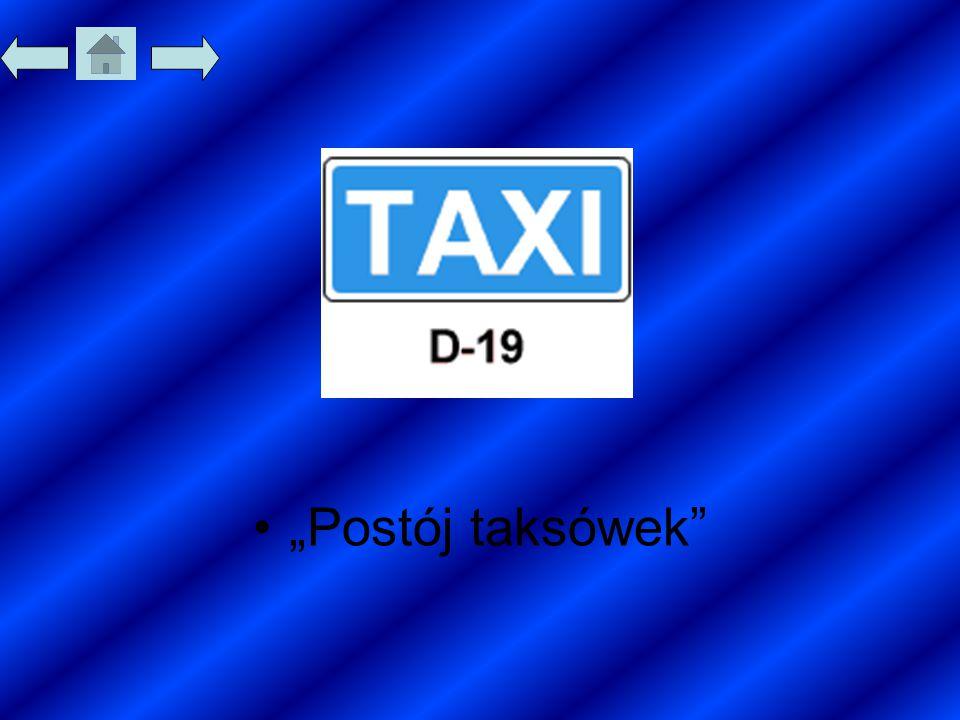 """Postój taksówek"""