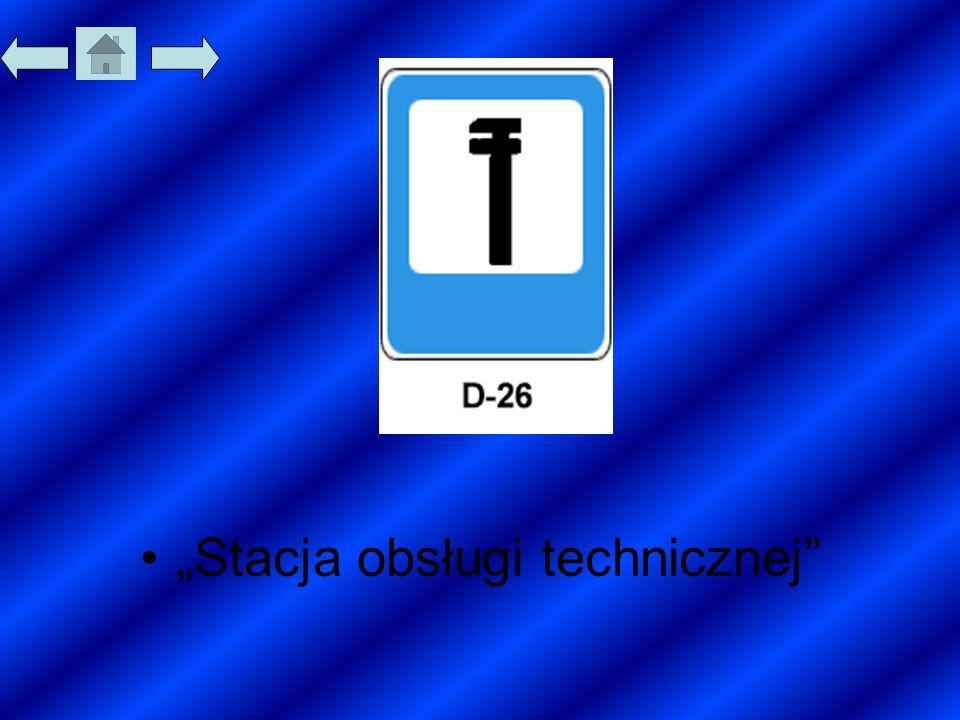 """""""Stacja obsługi technicznej"""""""
