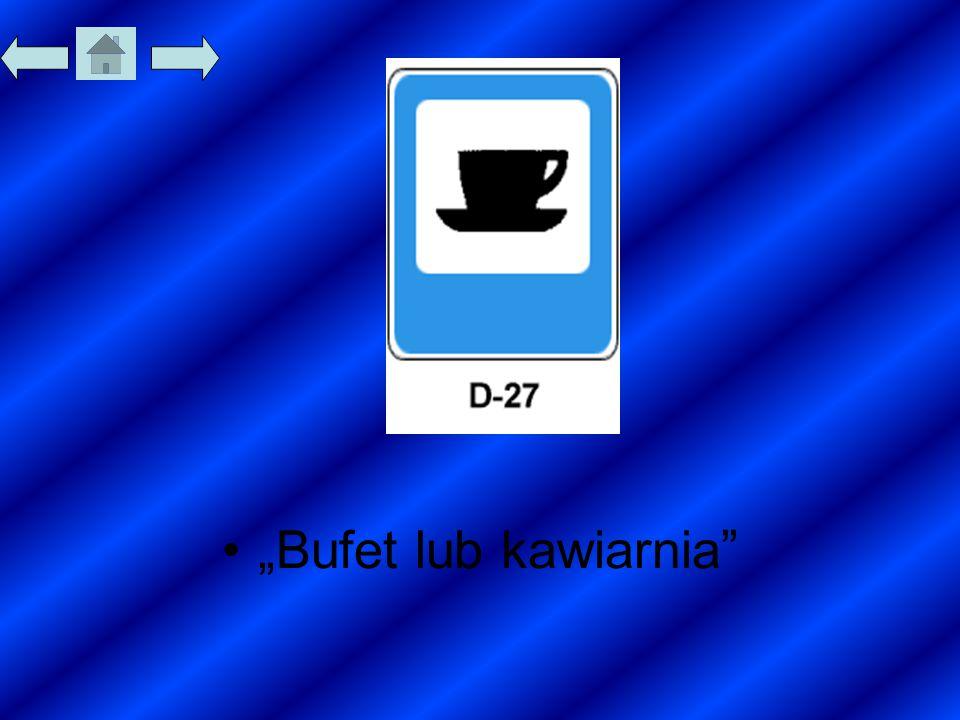 """""""Bufet lub kawiarnia"""""""