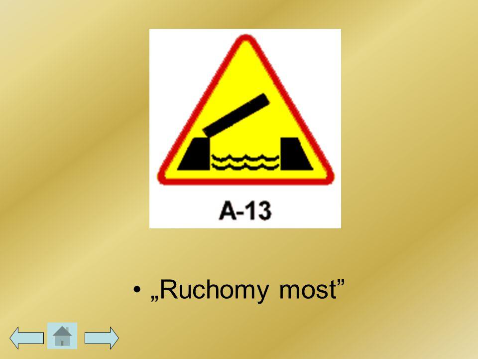 """Ruchomy most"""