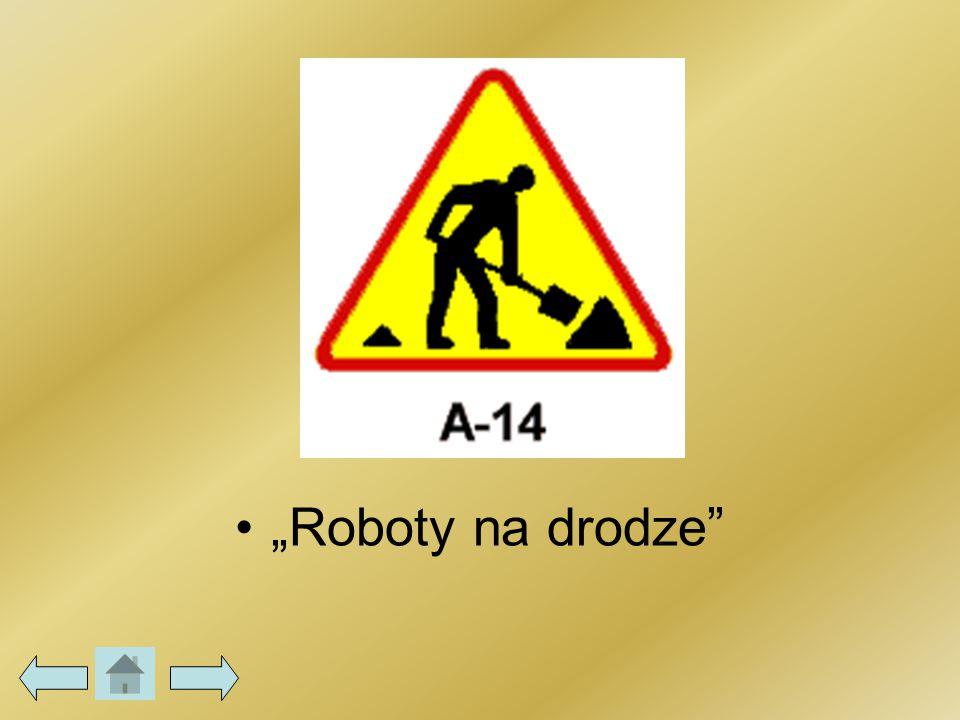 """""""Roboty na drodze"""""""