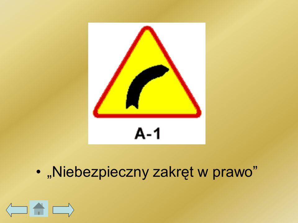 Nakaz jazdy w prawo (za znakiem) C-2